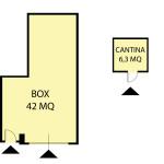 PLANIMETRIA BOX CANTINA vimercate risorgimento