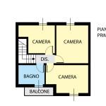planimetria vimercate velasca pirandello P1