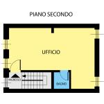 PLANIMETRIA THIENE TRIESTE PIANO 2